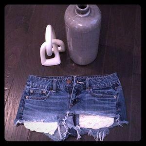 Gently Used American Eagle Denim Shorts 💙🦅